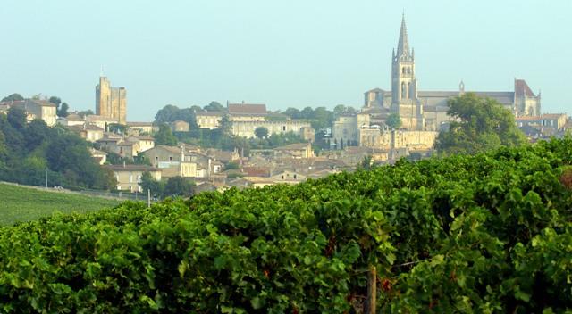 Bordeaux, vinhedos de Saint-Emilion
