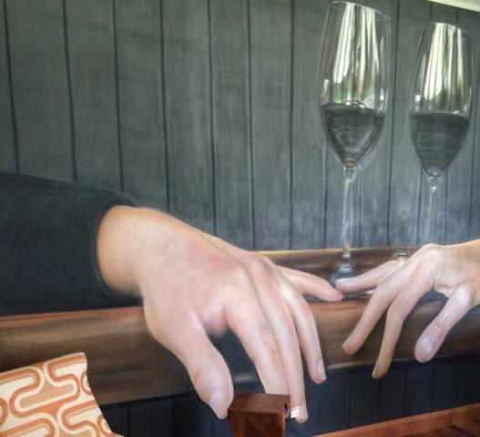 Mãos e taças