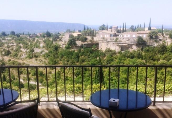 Provence - Vista do hotel La Bastide de Gordes